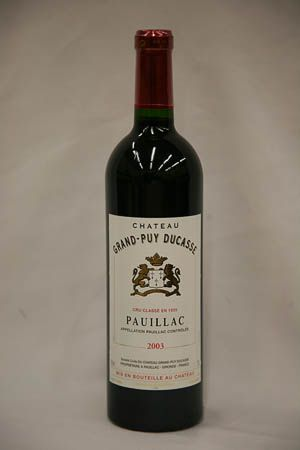 Chateau Grand Puy Ducasse 2003