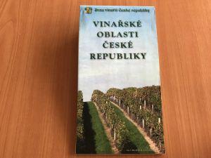 Mapa - Vinařské oblasti České republiky - Svaz vinařů České republiky
