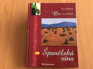 Kniha - Cesty za vínem_Španělská vína - Eva Petrová