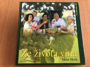 Kniha - Ze života vína_Fedor Malík